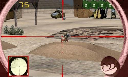 Sniper vs terrorism: oil war screenshot 0