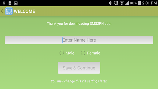 SMS2PH Free screenshot 11
