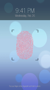 Fingerprint lock prank Pro screenshot 0
