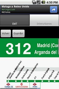 Madrid transportes screenshot 7