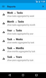 Work Tracker screenshot 2