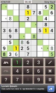 Andoku Sudoku 2 Free screenshot 01