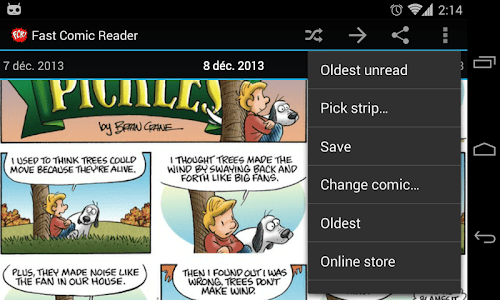 Pickles comic for FCR screenshot 2