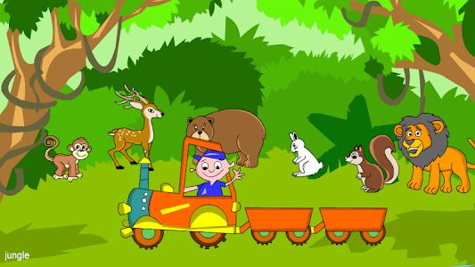 Kids Animal Game - Zoo Train screenshot 2