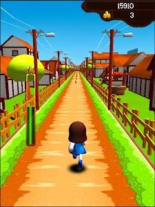Dorae Run - Cute 3D runner screenshot 0