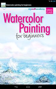 Beginners Watercolor Painting screenshot 0