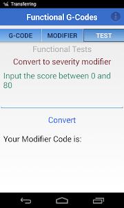Functional G-Codes (PT/OT/SLP) screenshot 4