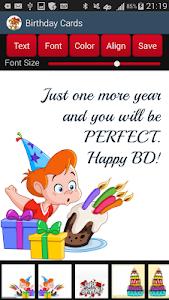 Birthday Cards screenshot 1