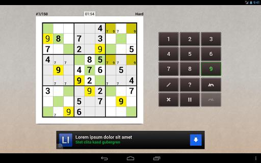 Andoku Sudoku 2 Free screenshot 08