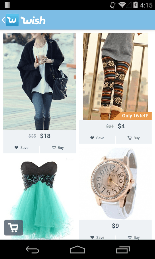 Online Dressesapp Wish Shopping