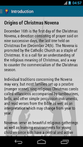 Christmas Novena screenshot 2