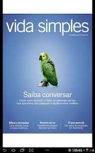 Revista Vida Simples screenshot 0