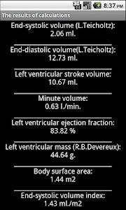 Echocardiography screenshot 2