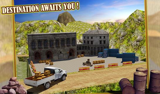 4x4 Hill Driver 3D Free screenshot 14