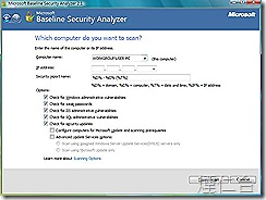 Microsoft Baseline Security Analyzer 2-2