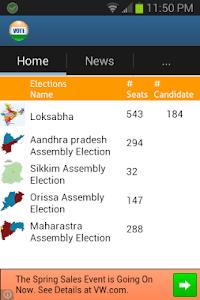 India Elections 2014 screenshot 1