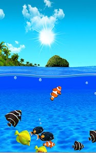 Aqua World HD Free wallpaper screenshot 10