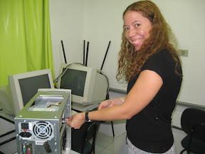 Alessandra Carvalho, multiplicadora do NTE
