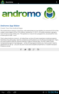 Andromo Sample screenshot 11