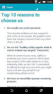 London Vision Clinic screenshot 4