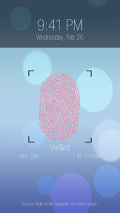 Fingerprint lock prank Pro screenshot 1
