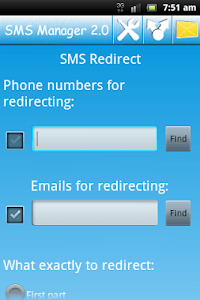 SMS Manager 2.0 screenshot 2
