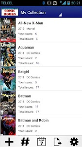 Comic Books Collector VE screenshot 0