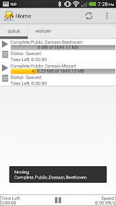 SABNZBDroid screenshot 5