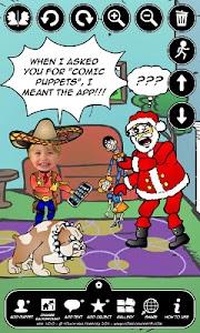 Comic Puppets Lite screenshot 1