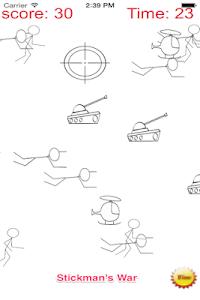 A Stickman Sniper 2 Doodle War screenshot 0