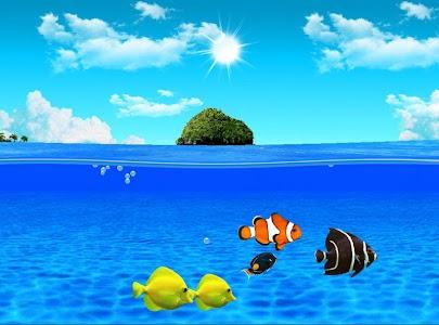 Aqua World HD Free wallpaper screenshot 4