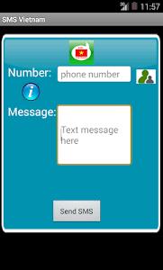 Free SMS Vietnam screenshot 3