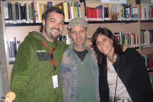 Sara, Alejo y yo