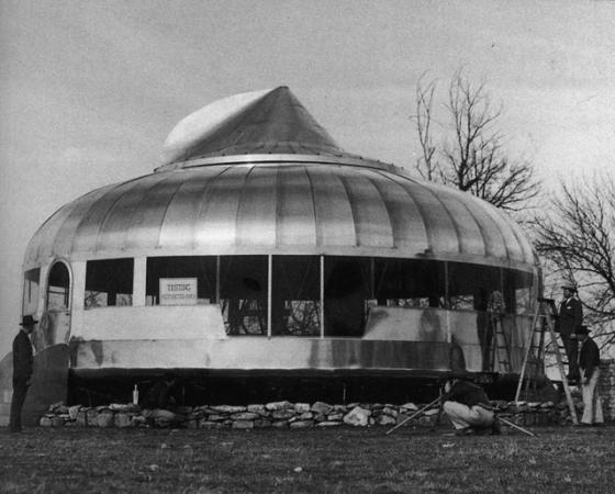 Buckminster Fuller, Dymaxion House Prototype (c.1945)