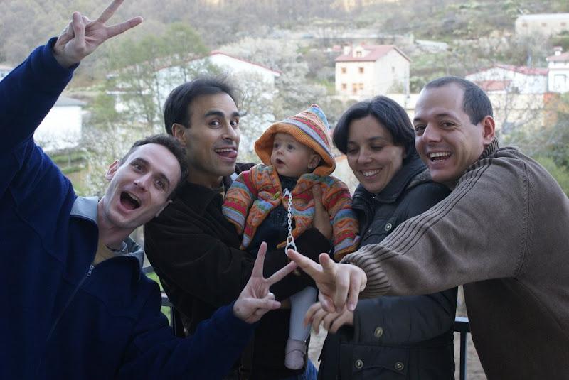 Sergio, Javi, Maria, Marga y MAP