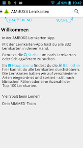 AMBOSS Wissen/Biblio *veraltet screenshot 0
