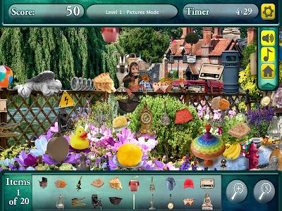 Hidden Objects Secret Gardens! screenshot 9