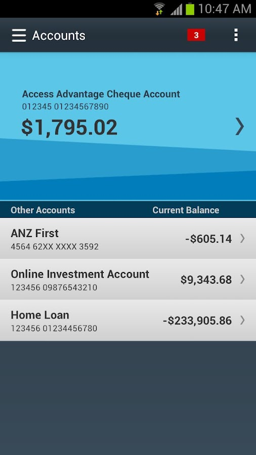 Anz Personal Banking