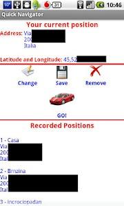 Quick Navigator Lite screenshot 0