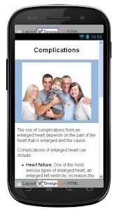 Enlarged Heart Information screenshot 5