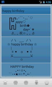 Emoji Kaomoji Emoticons screenshot 1