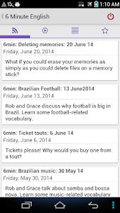 6 Six Minute English BBC screenshot 1