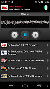 RADIO ITALY screenshot 3