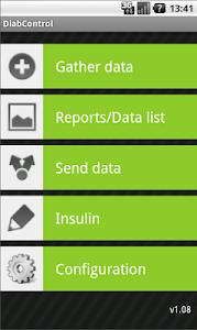 DiabControl screenshot 0
