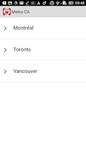 Metro CA Montreal, Toronto screenshot 0