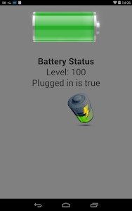 PhoneGapBattery screenshot 3