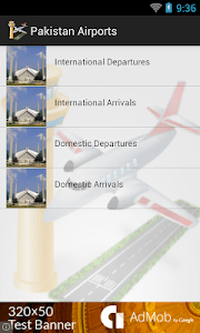 Pakistan Airports Flights screenshot 2
