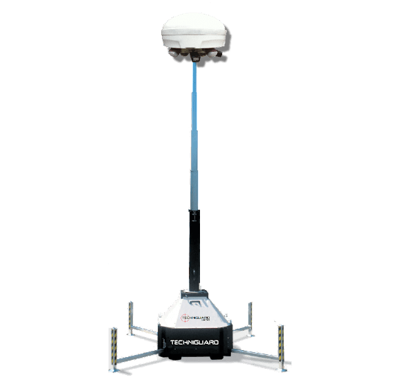 Mobile Security Camera Tower