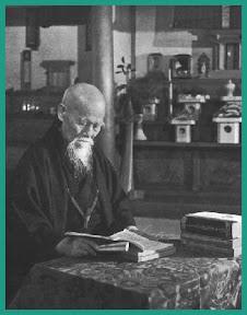 Morihei Ueshiba, fondatore dell'Aikido