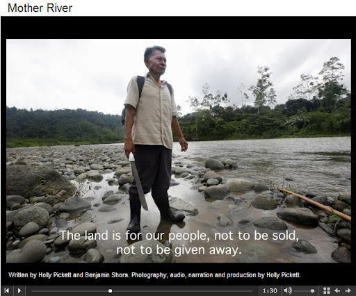 Rey Naso Valentin Santana, la tierra no debe ser vendida ni regalada